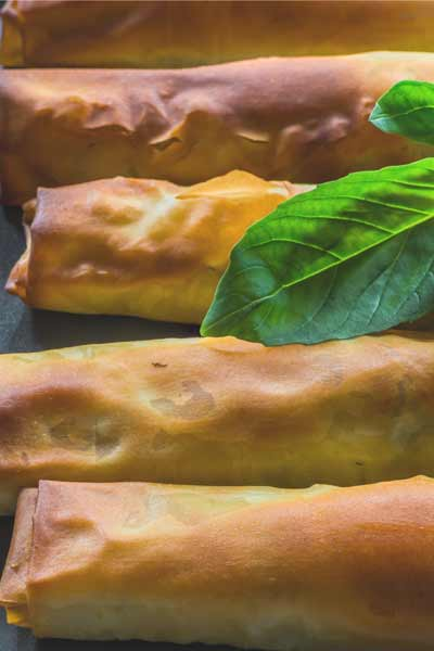 Salmon, Feta & Spinach Parcels
