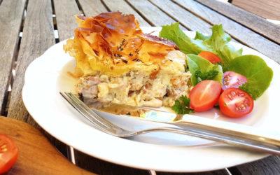 Chicken, Leek & Bacon Pie
