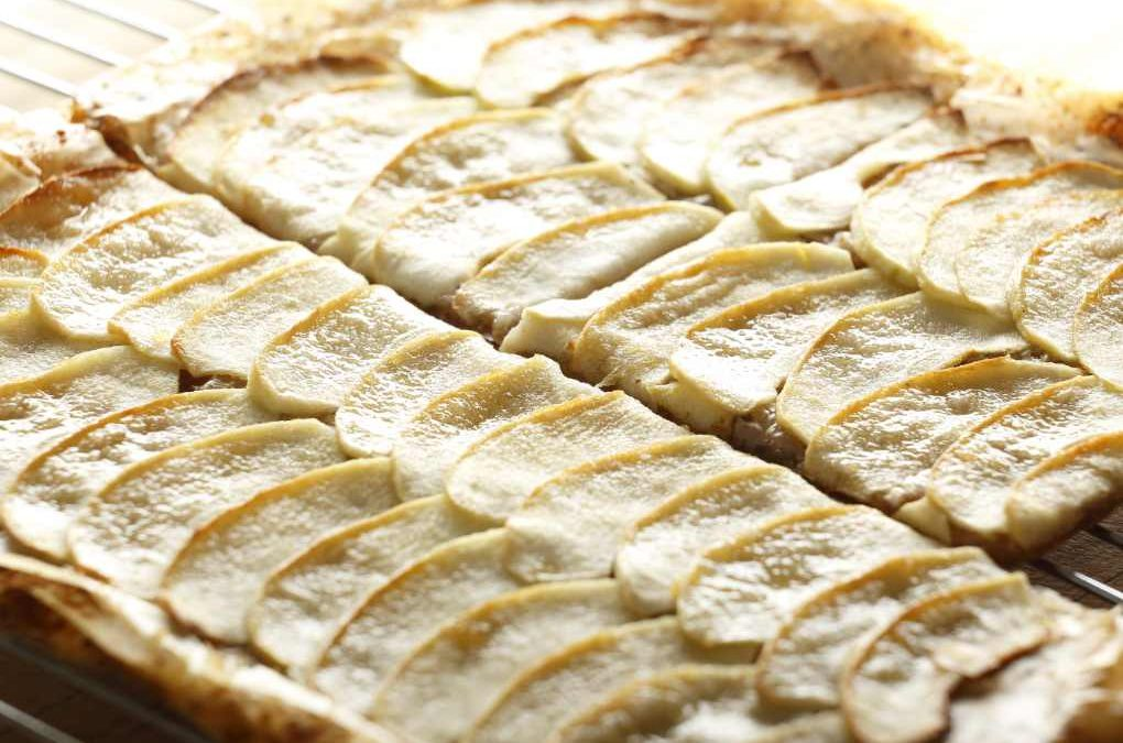 Spiced Apple Filo Tart